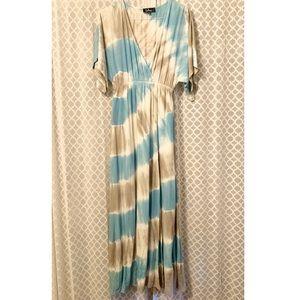 Lulu's Tie Dye Maxi Dress